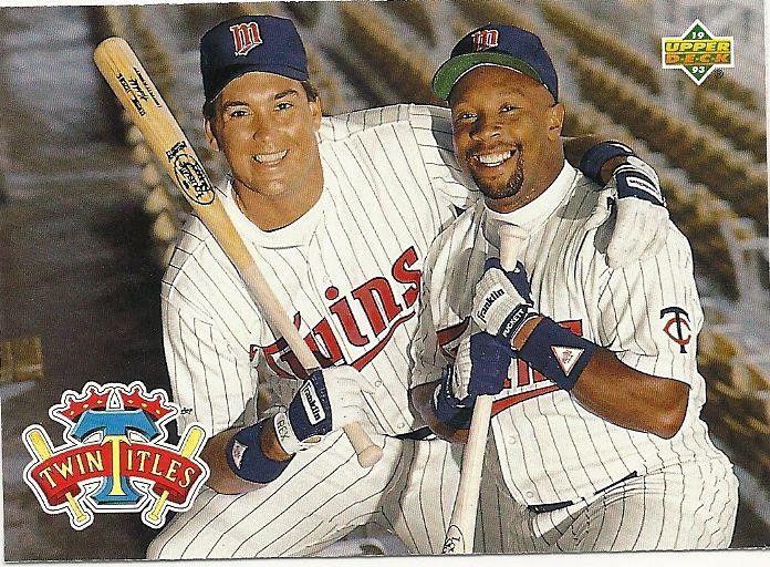 Kent Hrbek Rare Baseball Cards Twin Titles Kent Hrbek Kirby
