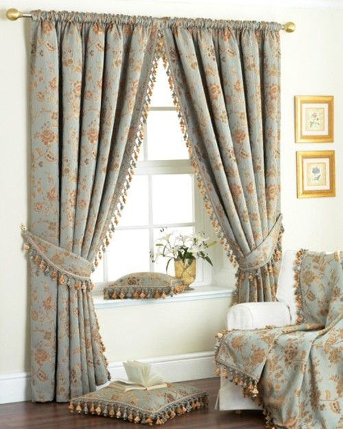 Curtains for bedroom windows ideas recipes pinterest Bedroom curtain ideas