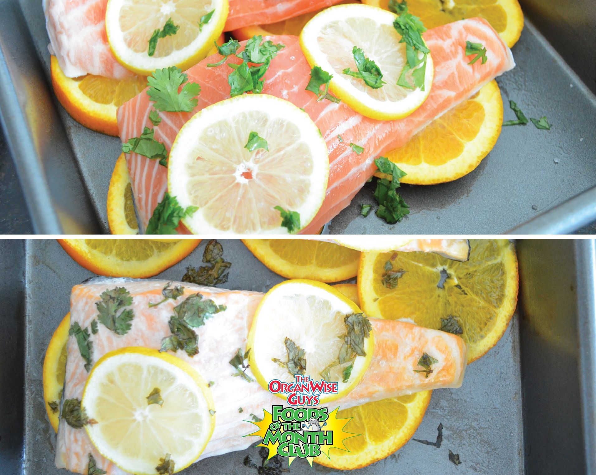 Three ideas for making citrus fish dishes. Create a healthy fish entree with citrus fruits like lemons and oranges with a variety of combinations. blog.organwiseguys.com/citrus/fish/