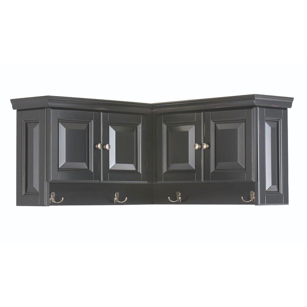 walker 16 in h x 30 in w x 30 in d wooden corner wall cabinet in rh pinterest com