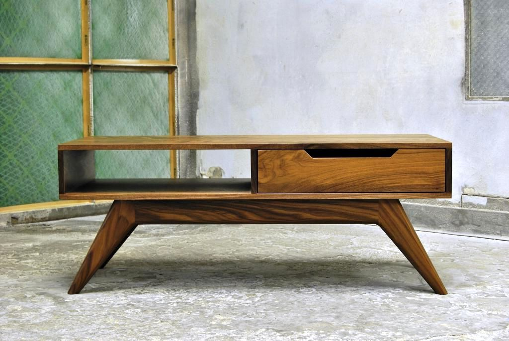 Diy mid century modern coffee table google search new for Mid century modern coffee table