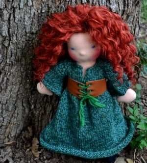 beautiful waldorf doll