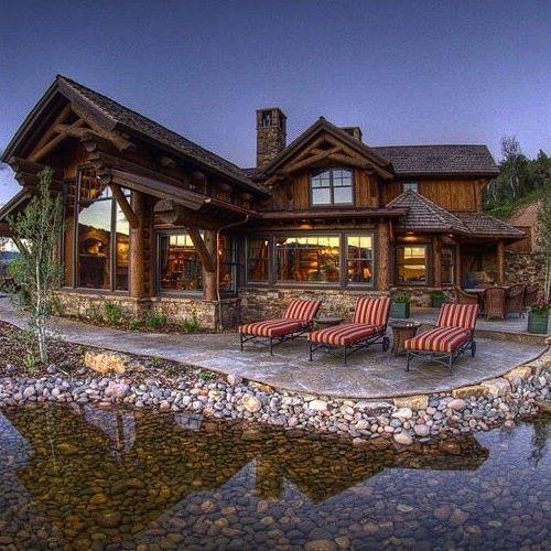 nice log home from customtimberhomes bina cabin homes log rh pinterest com