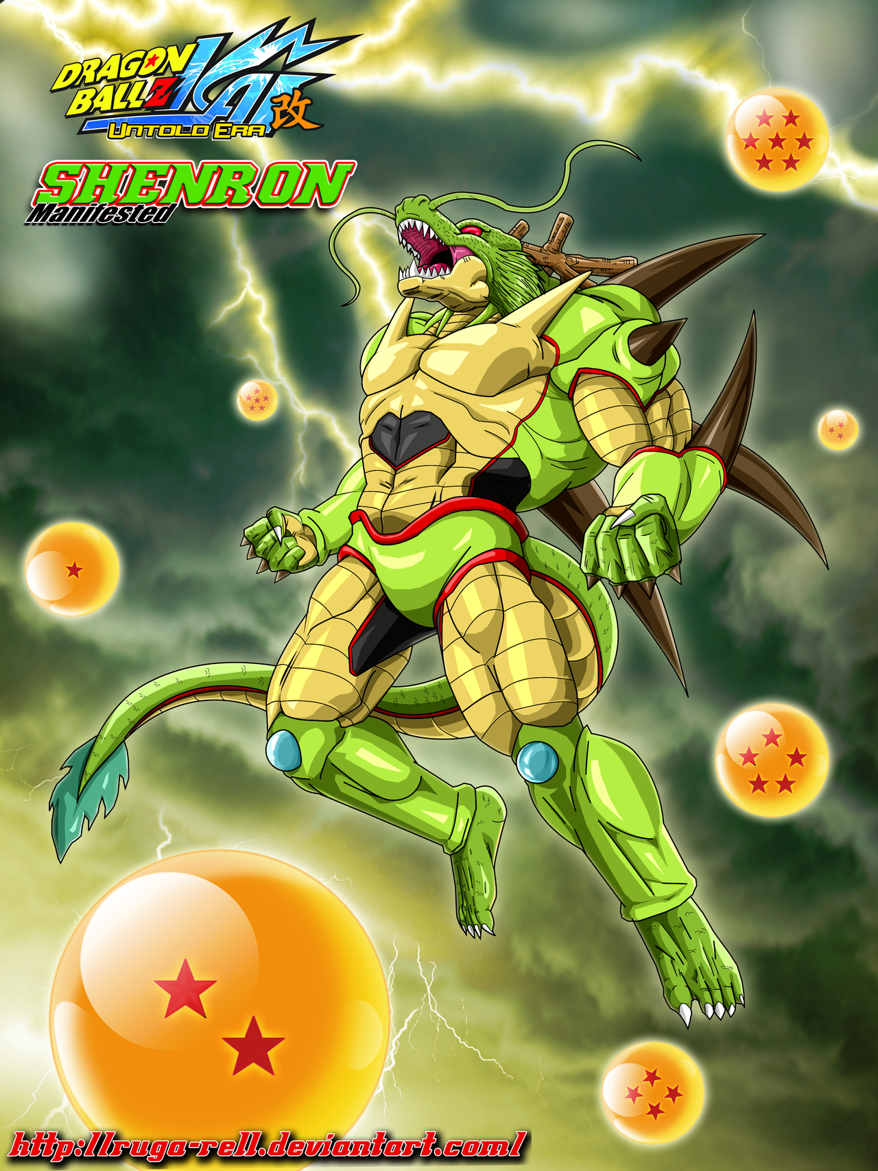 Shenron The Manifest Dragon By Ruga Rell On Deviantart Http Ruga Rell Deviantart Com Art Shenron The Mani Dragon Ball Z Anime Dragon Ball Super Dragon Ball