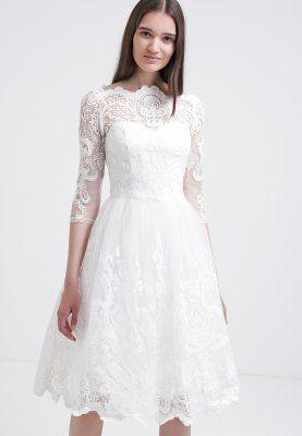 Chi Chi London Cocktailkleid Festliches Kleid White Zalando De Standesamt Cocktailkleid Gunstige Hochzeitskleider Hochzeitskleid Bestellen