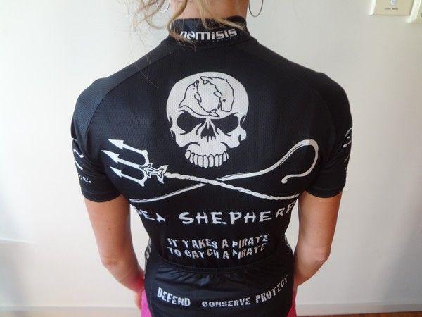 Sea Shepherd Cycling Jersey - NICE!  7184abb7a