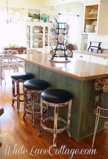how i transformed my kitchen island again home decor kitchen rh pinterest com