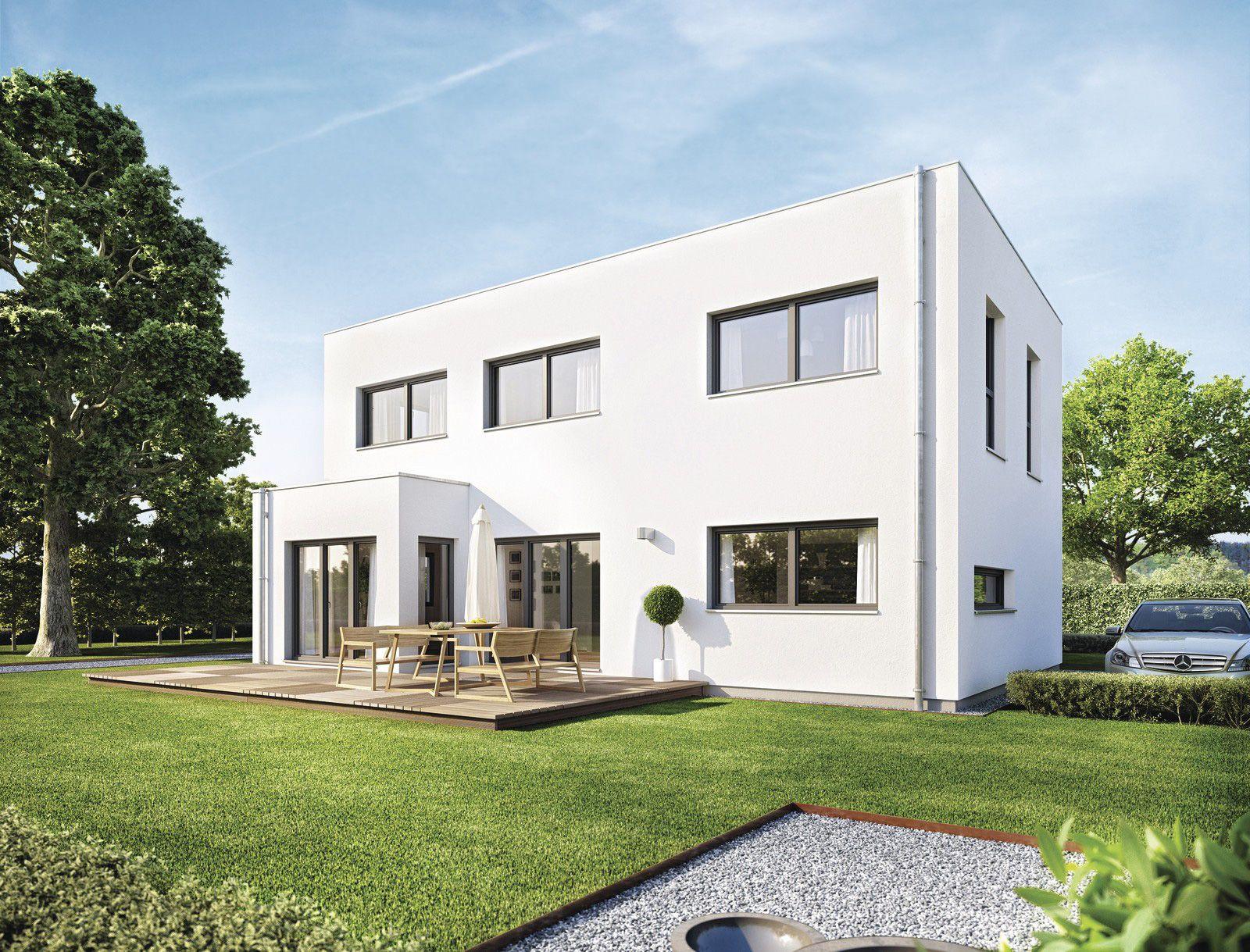 Sunshine 110 mit flachdach einfamilienhaus von for Moderne raumaufteilung