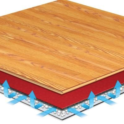 Roberts Airguard 100 Sq Ft 40 In X 30 Ft X 2 Mm 5 In 1 Underlayment With Microban For Laminate And Engineered Wood Floors 70 105 The Home Depot Engineered Wood Floors Engineered Wood Underlayment
