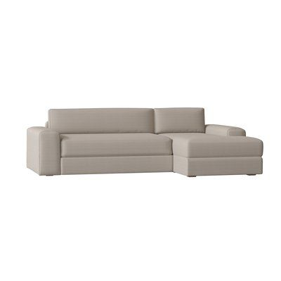 Benchmade Modern Couch Potato Sectional Size 30 H X 105 W X 63