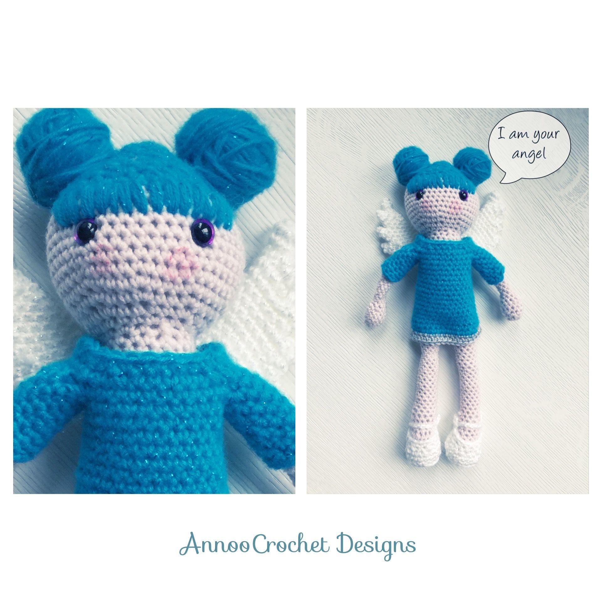 Babette Angel Doll Free Tutorial By AnnooCrochet Designs | Crochet ...