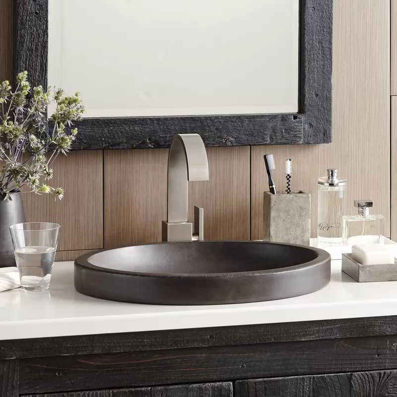 Bathroom Sink Drop In Sinks, Drop In Oval Bathroom Sinks