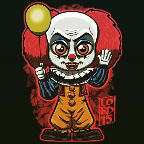 Pennywise Horror Art Lord Mesa Art Horror Movie Art