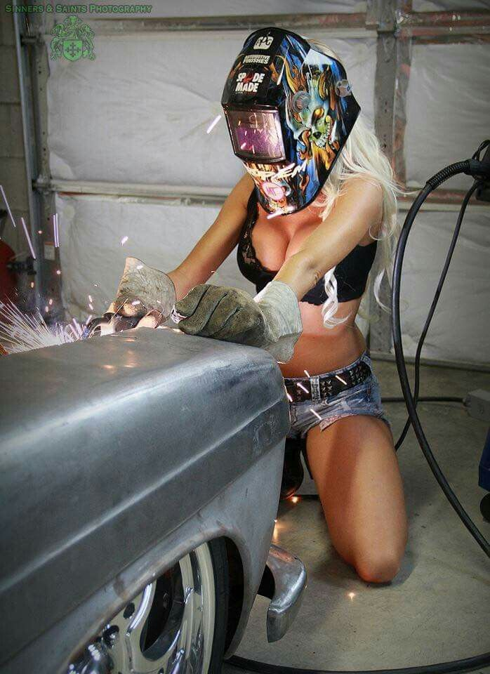 Scandal! sexy welding girls topic You