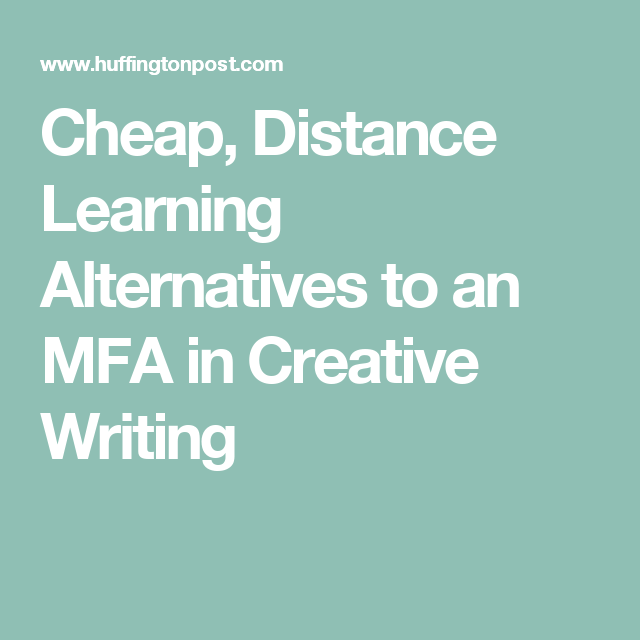 creative writing distance learning