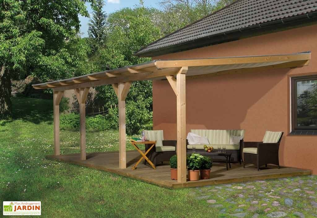 Perfect pergola bois lamelle colle x with grande pergola
