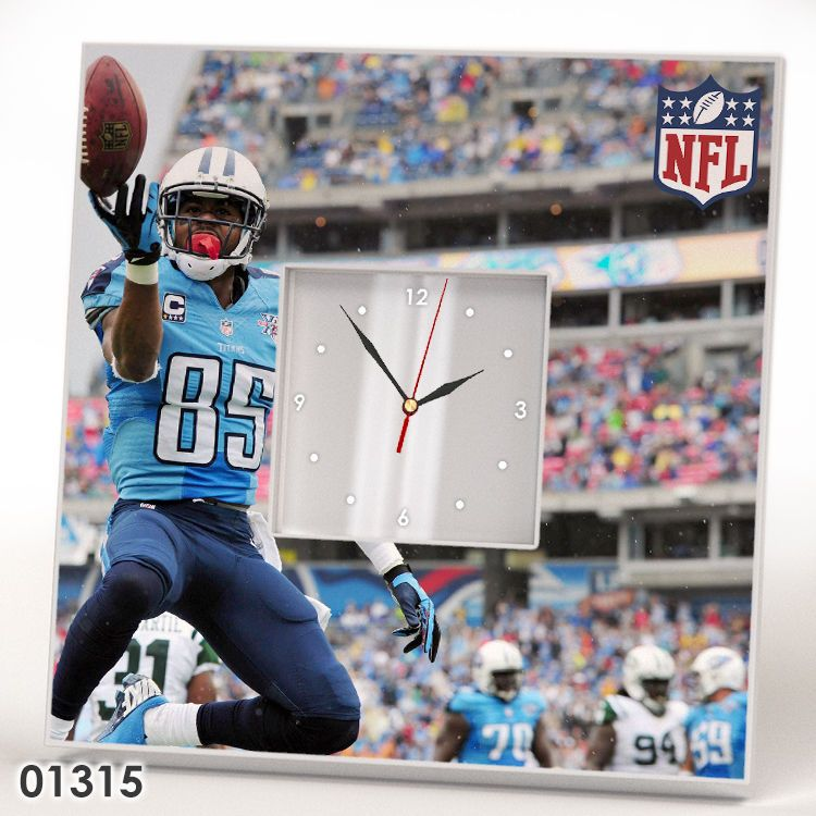 Tennessee Titans Players Wall CLOCK Mirror Decor Frame NFL Collection Fan Gift #IKEA #TennesseeTitans