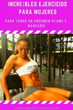 8 ejercicios para marcar el abdomen para mujeres