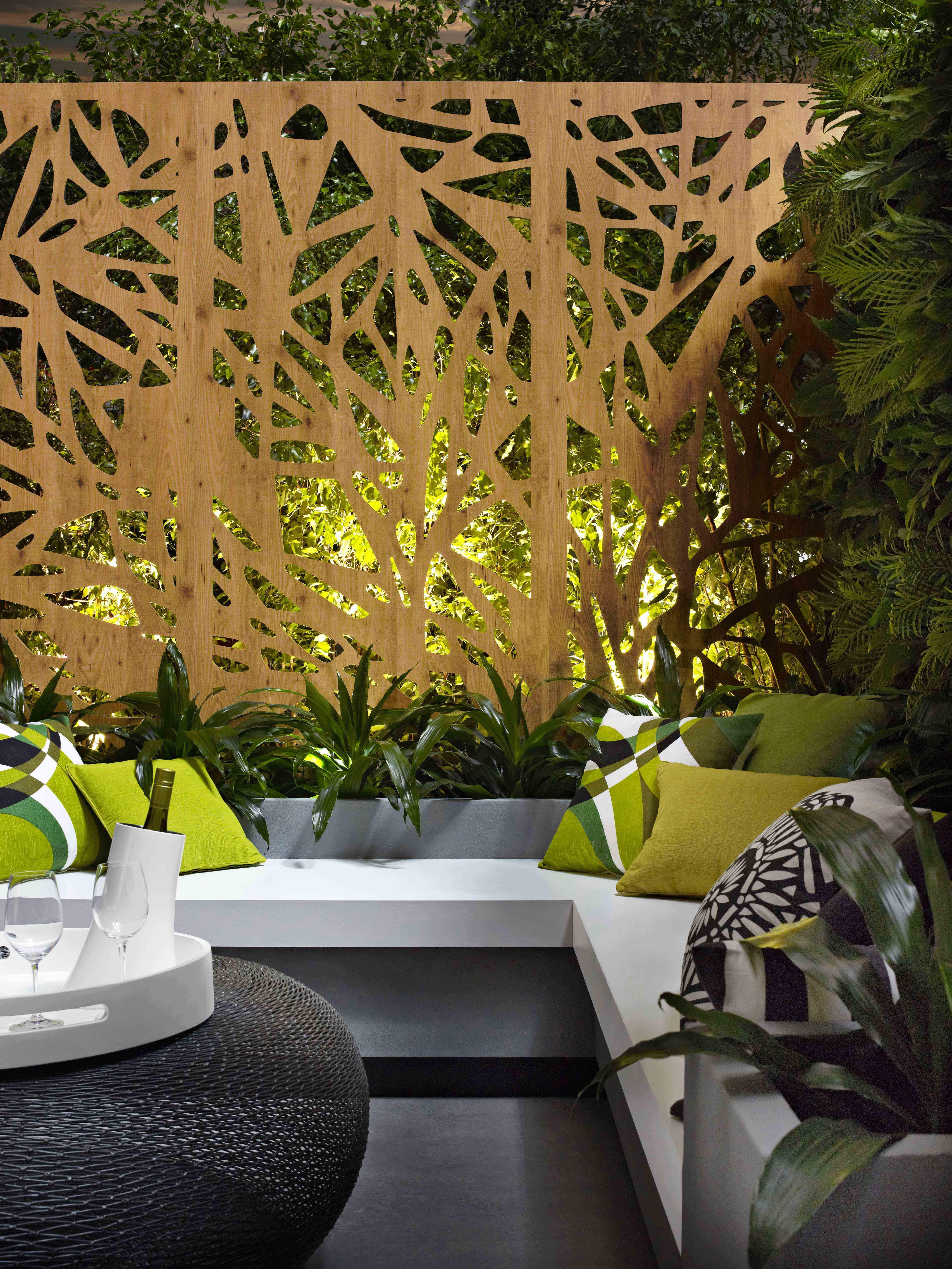 Bench seat Laminex #alfresco Compact Laminate Slip. Decorative ...