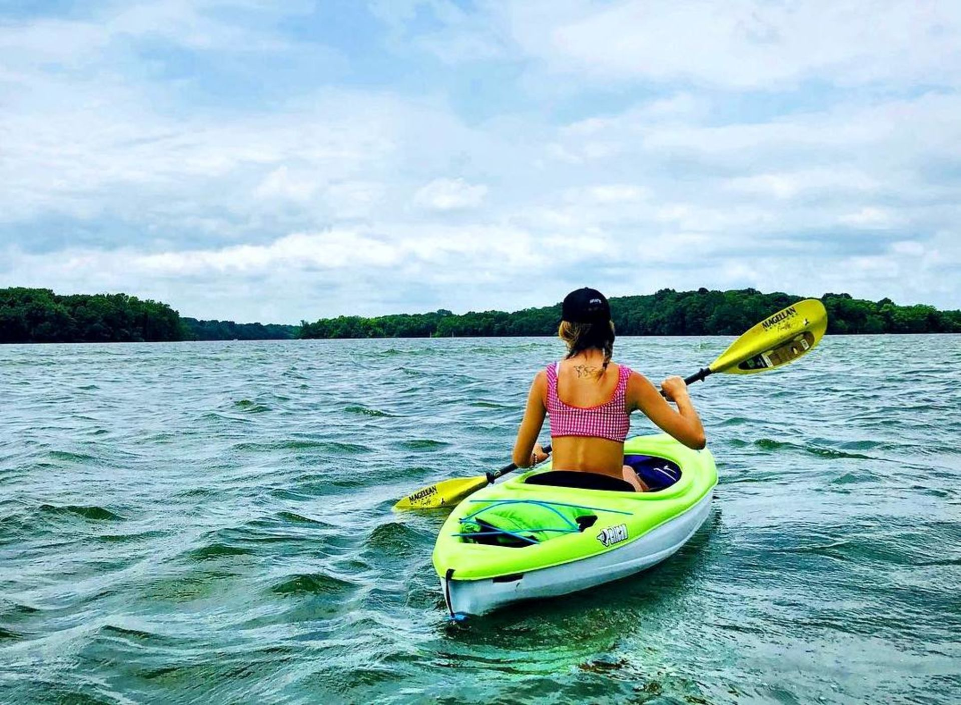 All the best kayaking spots in and around nashville