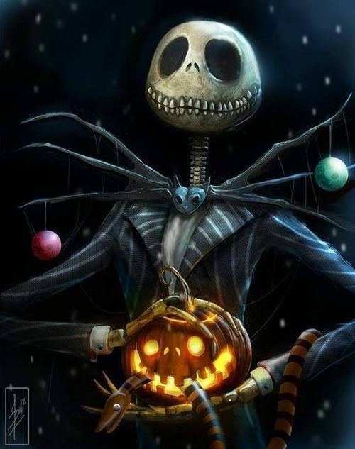 HALLOWEEN Skull Tête de Mort Etrange Noël Tim Burton JACK T-SHIRT FEMME Mr