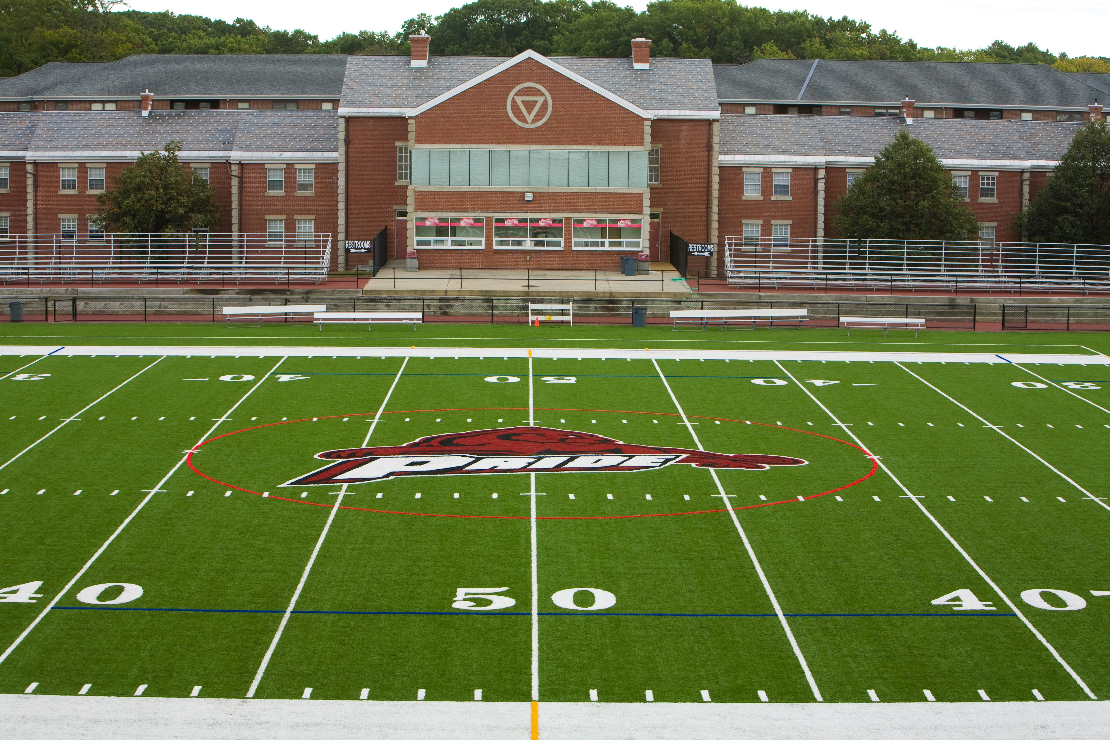 Springfield College Tuition >> Amos Alonzo Stagg Field Springfield College Seats On The
