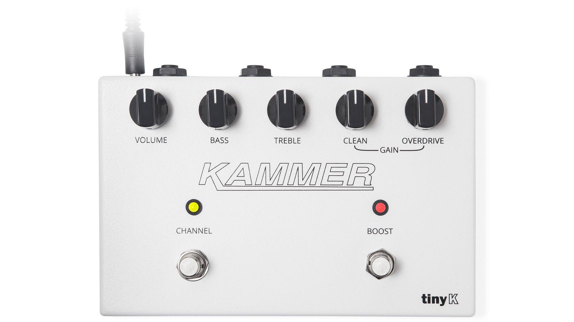 Kammer Tiny K Test Kompakter Topteil Verstärker für das Pedalboard s