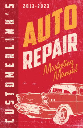 auto repair marketing manual by customerlink a monthly email rh pinterest com Ford Auto Repair Manuals Online 1999 Club Car Repair Manual