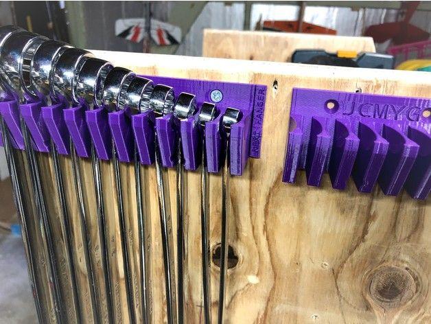 Wrench hanger / holder - wall mount by jcmygod