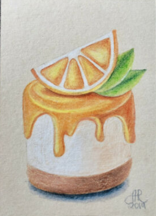 Dessert Drawing Pencil _ Dessert Drawing in 2020 ...