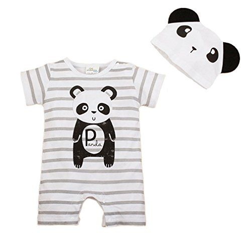 Bebone Baby Girls Boys Cartoon Animal Romper Jumpsuit