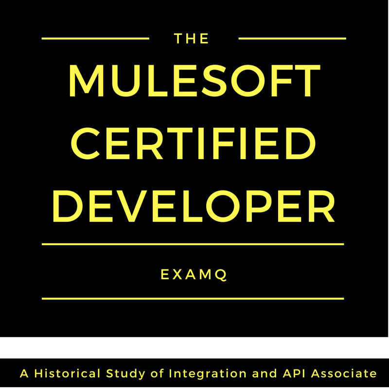 Mulesoft Exam Questions: mulesoft developer certification,MCD ...