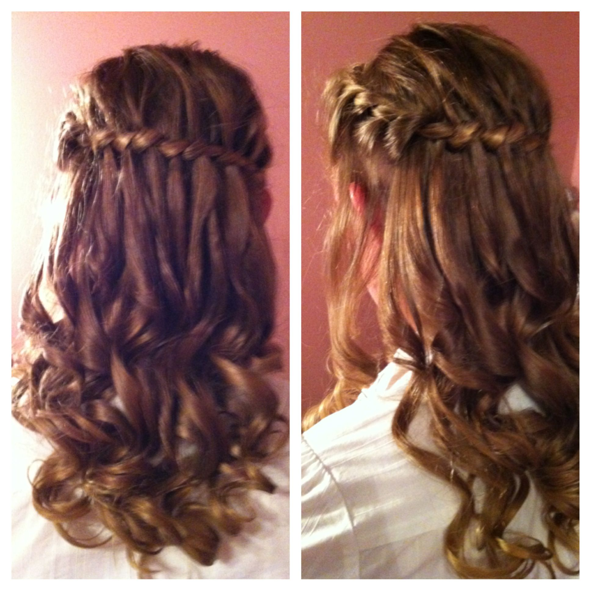 Cute Hairstyle For A Dance Twist And Curls HairMakeup - Hairstyle for valentine's dance