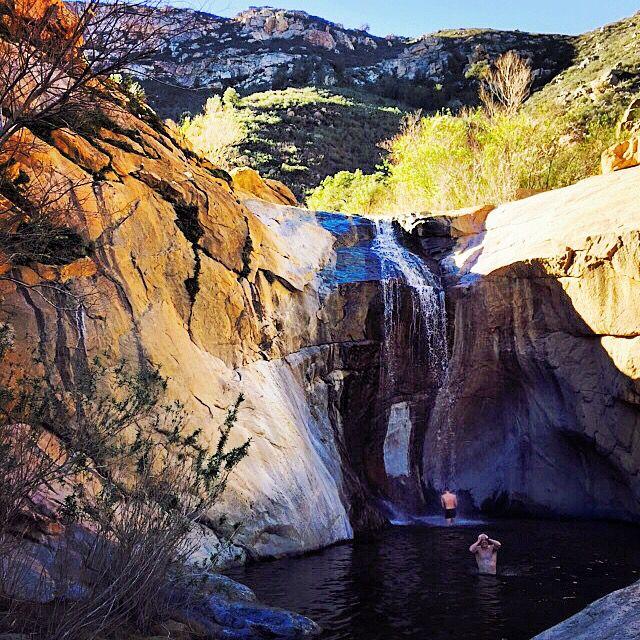 Three Sisters Falls, San Diego