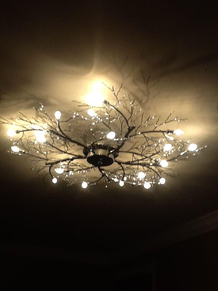 My Bedroom Light Possini Euro Branch 30 1 2 Wide Ceiling Light