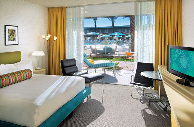 Modern Hotel Rooms 15 amazing mid-century modern hotels in the u.s.   15., modern and