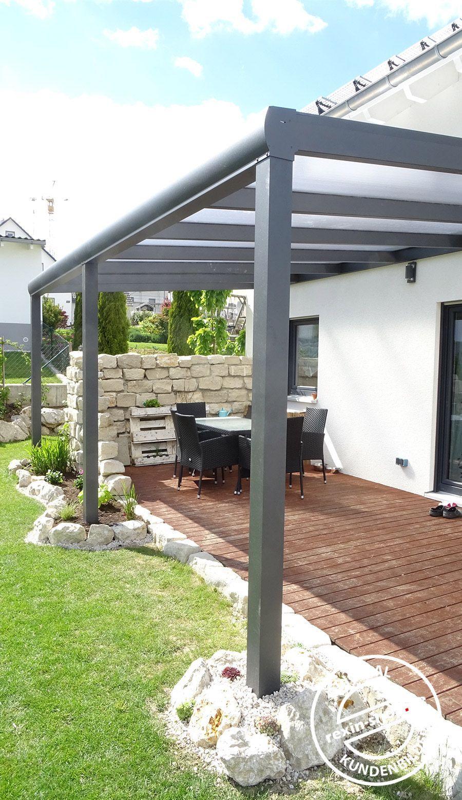Premium Mit Stegplatten Mit Ohnedachgestalten Premium Stegplatten In 2020 Small Backyard Pools Pergola Outdoor Gardens Landscaping