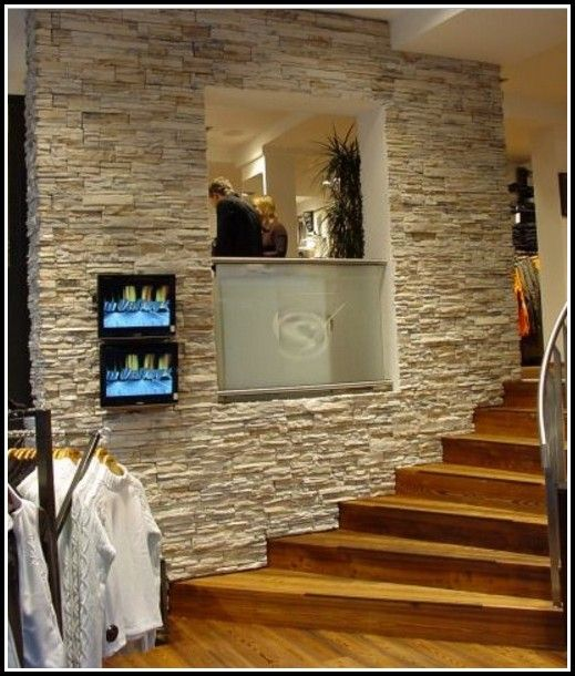 Fliesen Steinoptik Wandverkleidung Fliesen Hause Dekoration - Fliesen in kopfsteinpflasteroptik