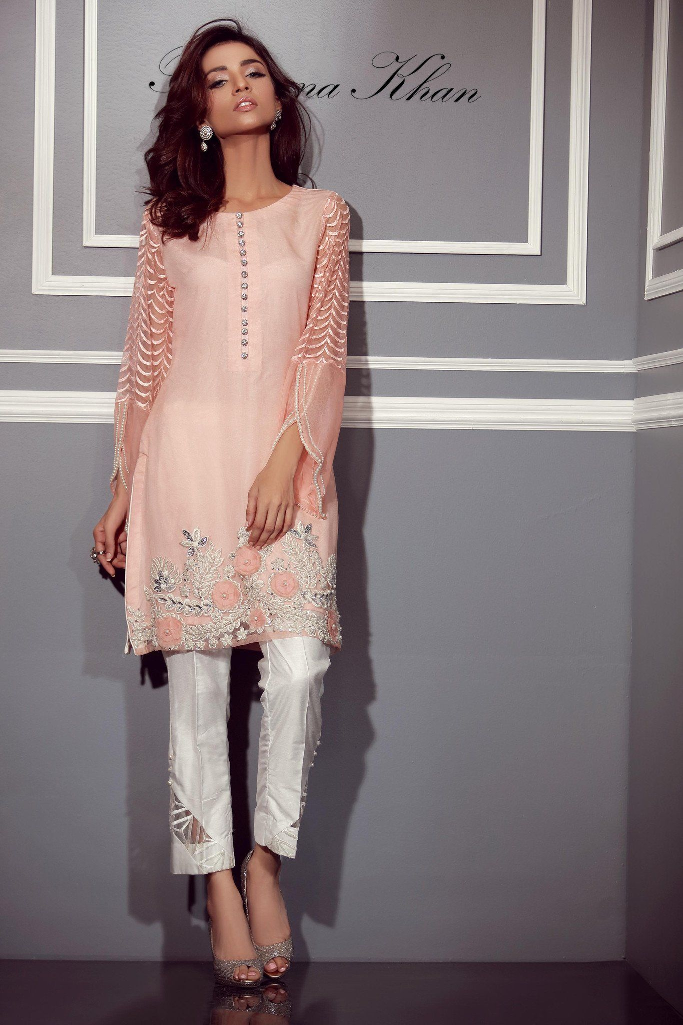 24605bd452 Blooming Pink - Phatyma Khan - 1 | Dresses in 2019 | Pakistani ...