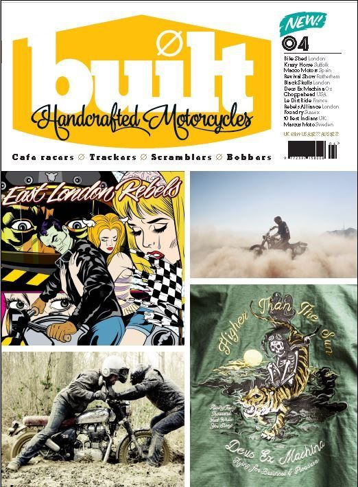 Magazine, Tattoo Studio, Custom Bikes