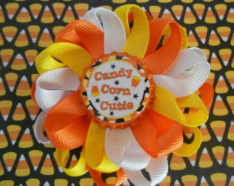 Back to school Preschool Cutie loopy flower by AllThingsGirlyBows