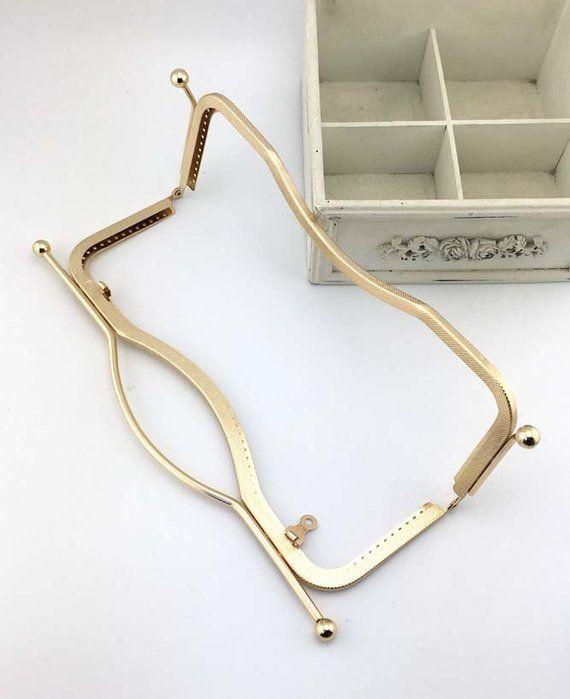 27cm(10.6inch) golden purse metal bag frame A392-golden | Pinterest