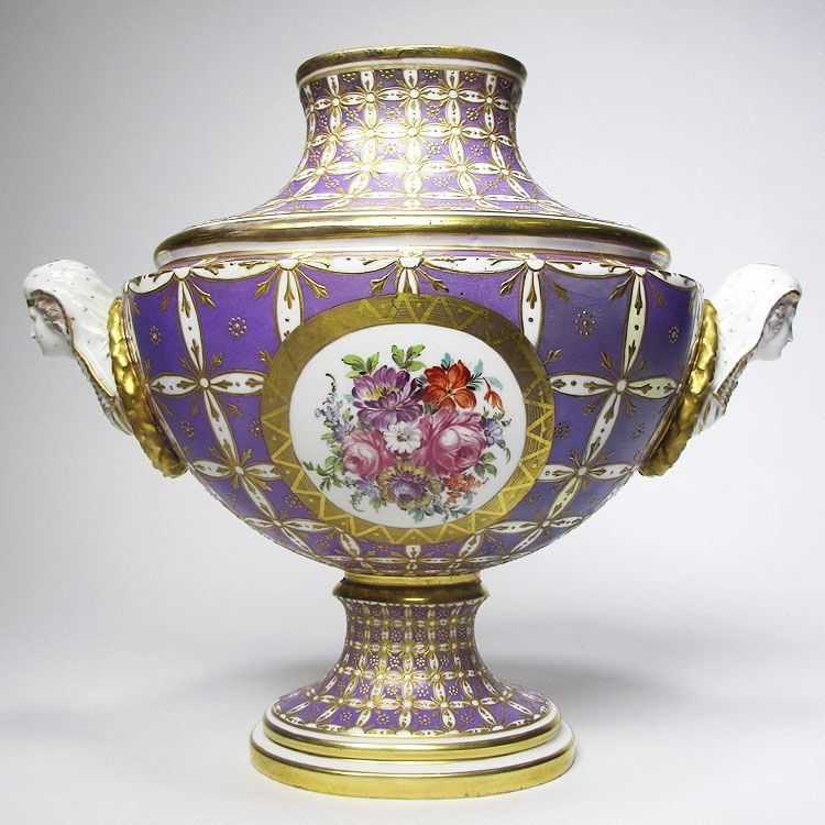 A Very Fine And Rare French 19th Century Sevres Vase Decorated With
