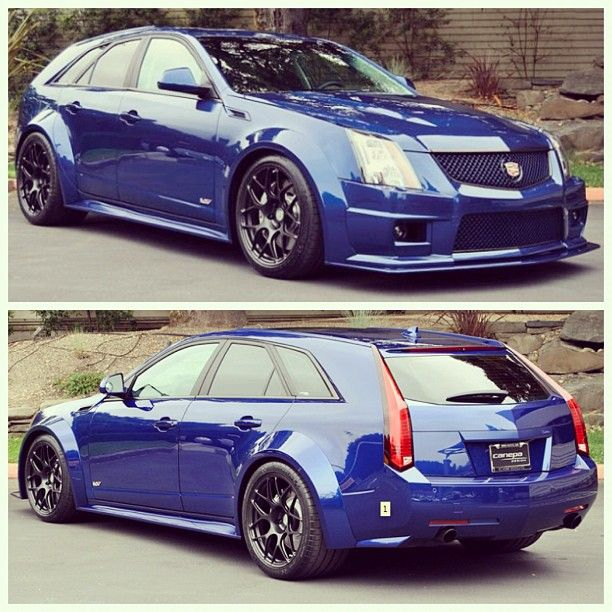 Cadillac Cts V Wagon For Sale: Wide Body CTS-V Wagon; 600 HP 6-spd Manual Transmission