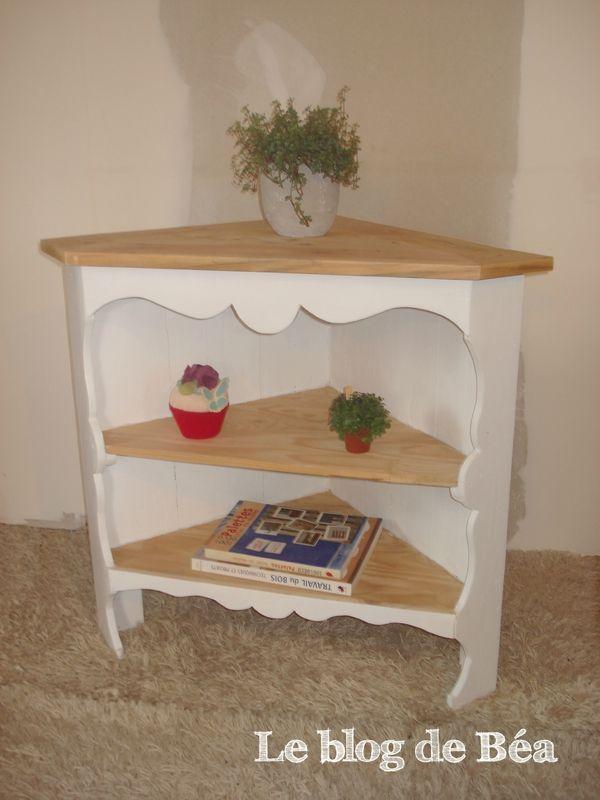 DIY meuble d\u0027angle en bois de palette DIY Pinterest Construction