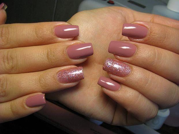 Gelish Mauvy Mauve Et June Bride 01353 Mauve Nails Gel Shellac Nails Gelish Nails