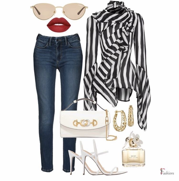 Styling your jeans!! Visit the link to shop the look  Created with #fashiersapp👠💄   #redshoes #flatshoes #fashionistas #jeans👖  #fashionaddicted #styleblog #stylegoals #stylebook #outfitstyle #animalprint #fashionblogg #bloggerstyle #fashionblogger #heelsaddict #outfitinspirations #outfitposts #ootdblogger #realoutfitgram