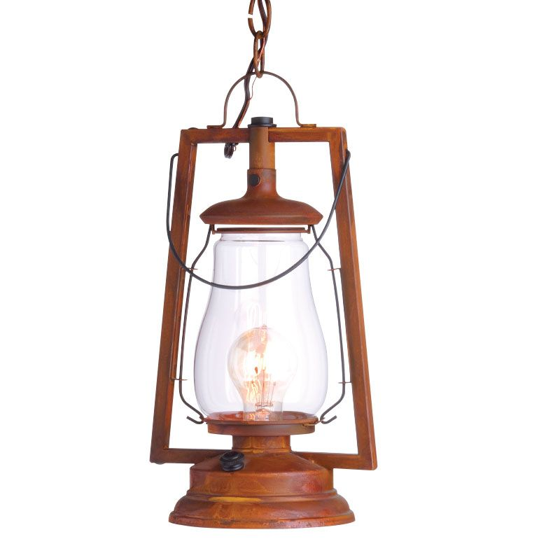 Representing the Old West, the 49er chain mount lantern