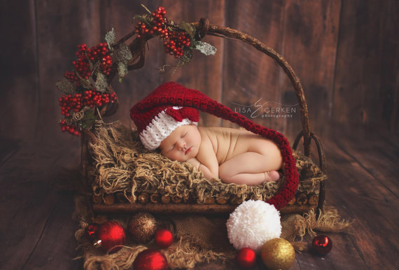 Christmas Newborn Photography Props