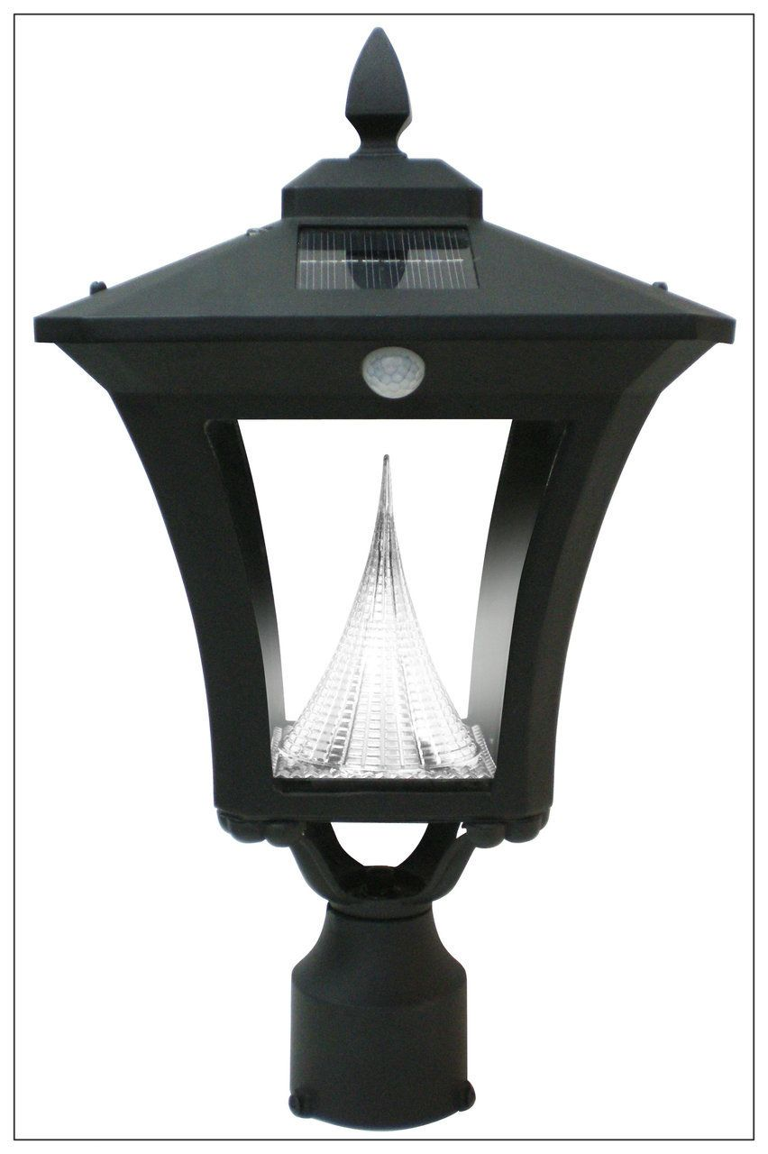 Motion Sensor Solar Light Pole Post Wall Mount Victorian Lantern Solar Lights Outdoor Post Lights Led Outdoor Lighting